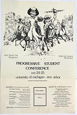 Progressive Student Conference. Oct. 24-25, University of Michigan - Ann Arbor [poster]