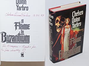 A Flame in Byzantium: a novel of Olivia [#1 signed]