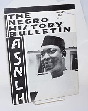 The Negro history bulletin: vol. 24 Number: Brooks, Albert N.