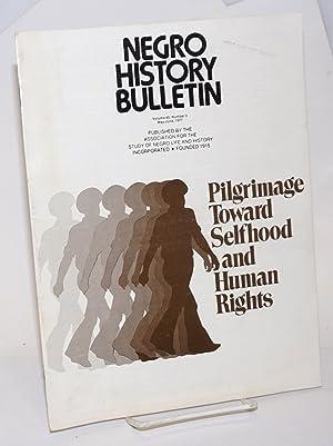The Negro history bulletin: vol. 40 Number: Picott, J. Rupert,