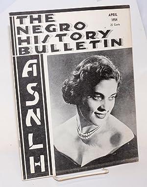 The Negro history bulletin: vol. 17 Number: Brooks, Albert N.