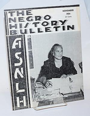 The Negro history bulletin: vol. 18 Number: Brooks, Albert N.