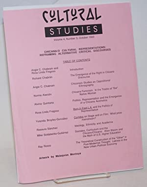 Cultural Studies vol. 4, number 3, October 1990 [handbill]