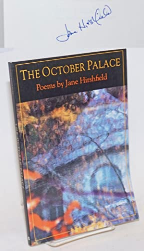 The October Palace: poems [signed]