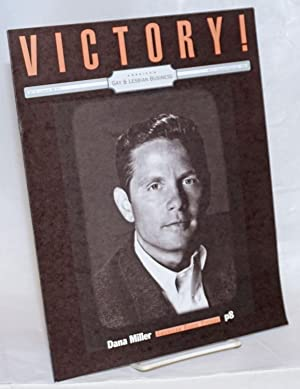 Victory! The National Gay Entrepreneur Magazine; vol. 3, #1, whole number 15, February, 1996: Dan...