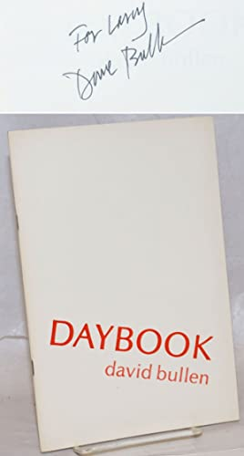 Daybook [signed]