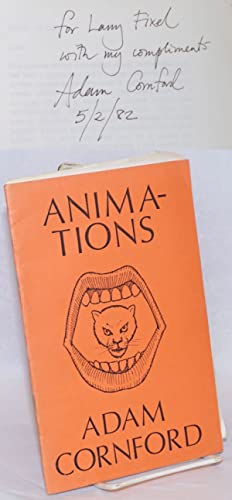 Animations [inscribed and signed]