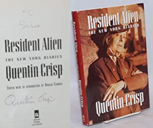 Resident Alien: the New York diaries [signed]