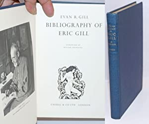 Bibliography of Eric Gill. Foreword by Walter Shewring