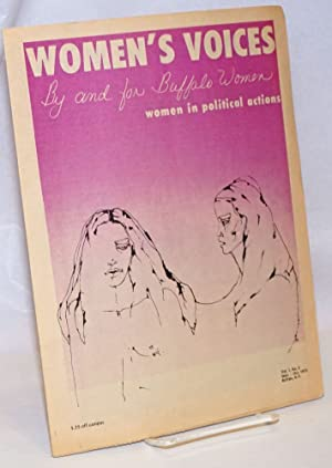 Women's Voices: by and for Buffalo Women; Vol. 1 No. 2, Sept.-Oct. 1972
