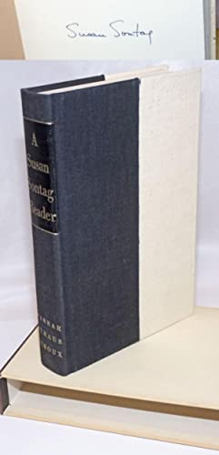 A Susan Sontag Reader: [signed limited]: Sontag, Susan, introduction