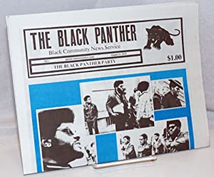 The Black Panther Black Community News Service. Special commemorative issue, August 25, 2018. Vol. 1