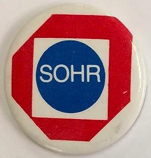 SOHR [pinback button]: Save Our Human