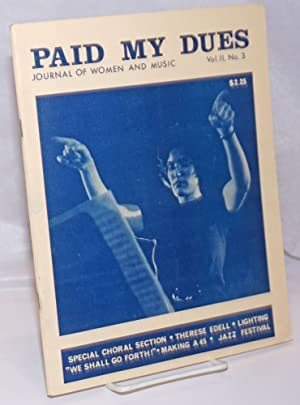 Paid My Dues: journal of women and: Armstrong, Toni L.,