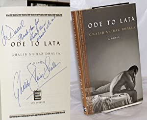 Ode to Lata: a novel [inscribed & signed]