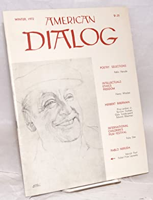 American dialog; Winter, 1972, vol. 7, no. 1: North, Joseph, ed