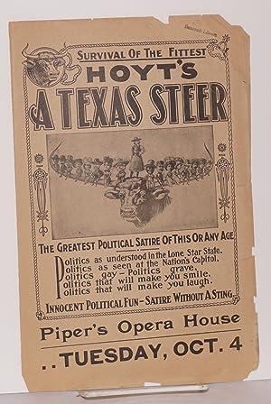 Hoyt's A Texas Steer