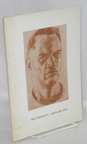 Self portrait, Bernard Goss: Goss, Bernard and Evangeline Zehmer Goss