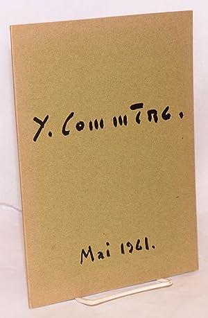 Jean Comm?re;; peinture r?centes; Galerie David et Garnier, du 25 mai au 17 Juin 1961: Comm?re, ...
