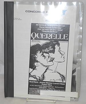 Querelle: de laatste en belangrijkste film van Ranier Werner Fassbinder naar het wek van Jean Genet...