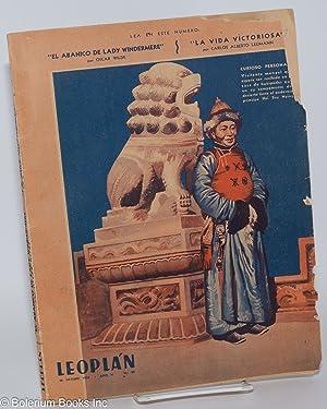 "Leopl?n: 26 Octubre 1938, a?o V, no. 99; ""El abanico de Lady Windermere"" por Oscar Wilde;..."