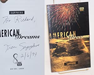 American dreams by Sapphire [pseud.]: Lofton, Ramona