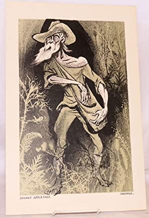 Johnny Appleseed [lithograph]: Gropper, William