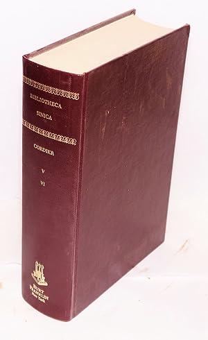 Bibliotheca Sinica: dictionnaire bibliographique des ouvrages relatifs a l'Empire Chinois. ...