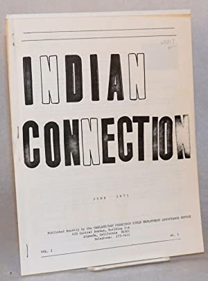 Indian connection: June, vol. I, No. 5