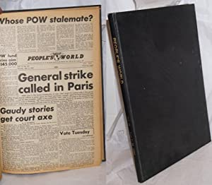 People's World.; Vol. 15 (1952); bound volume of all issues for month of June