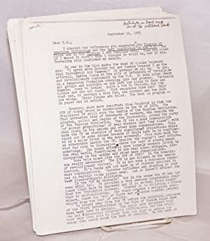 Group of 31 documents from the 1983-84 internal strife that decimated the SWP and gave rise to new ...