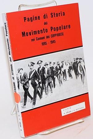 Pagine di storia del movimento popolare nei comuni del Copparese 1895-1945: Brina, Werther; ...