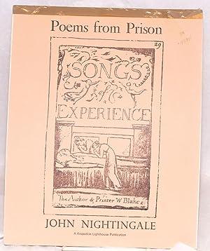 Poems from prison: Nightingale, John