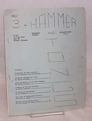 Hammer and Tongs. 3. 1962: Socialist Party - Social Democratic Federation