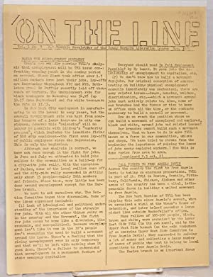 On the line. Vol. I no. 3: Young Workers Liberation