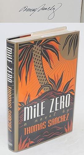 Mile zero: Sanchez, Thomas