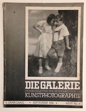 Die Galerie: monatsbl?tter der internationalen kunstphotographie: jahrgang 6, heft no. 9, September...