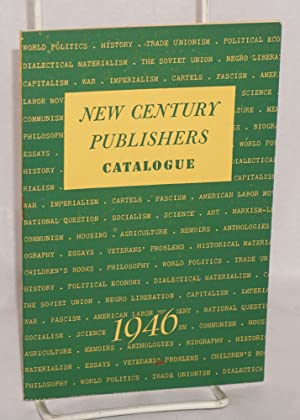 Books and pamphlets, 1946: New Century Publishers