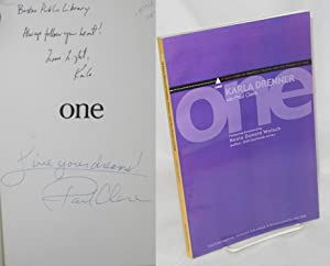 One; a true story of politics, prayer, and the power of one: Drenner, Karla, with Paul Clere