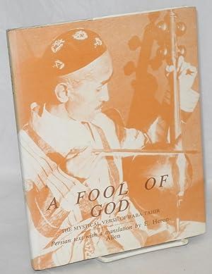 A Fool of God:; The Mystical Verse: Tahir, Baba