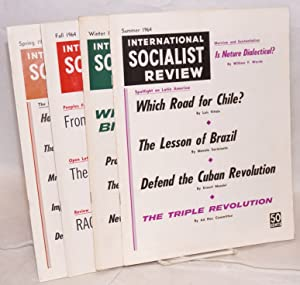 International Socialist Review, vol. 25, nos. 1-4 [all issues for 1964]