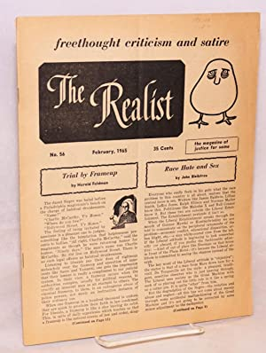 The Realist [no.56], freethought criticism and satire, the magazine of justice for some, Fabruary ...