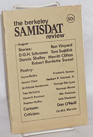 The Berkeley samisdat review; volume 1, number 3, August, 1973: Clifton, Merritt, editor, Ron ...