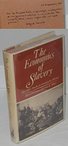 The economics of slavery and other studies in econometric history