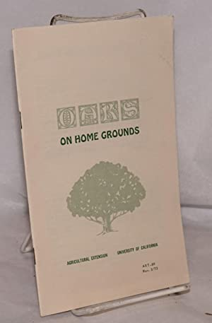 Oaks on home ground: Brown, Leland R.,