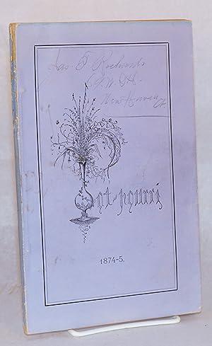 Pot-pourri 1874-5: Yale]
