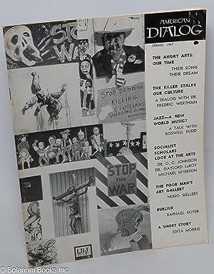 American dialog; Spring 1967, vol. 4, number 1: North, Joseph, ed