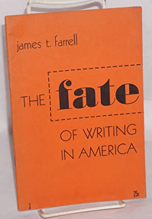 The fate of writing in America. [cover title]