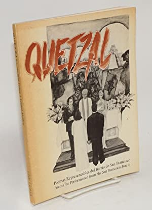 Quetzal; poemas representables del barrio de San: Lobos, Amílcar, Leland