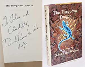 The turquoise dragon; a mystery